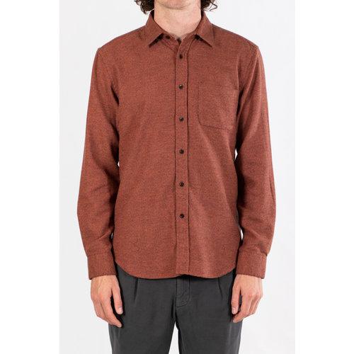 Portuguese Flannel Portuguese Flannel Overhemd / Brick & Mortar / Baksteen