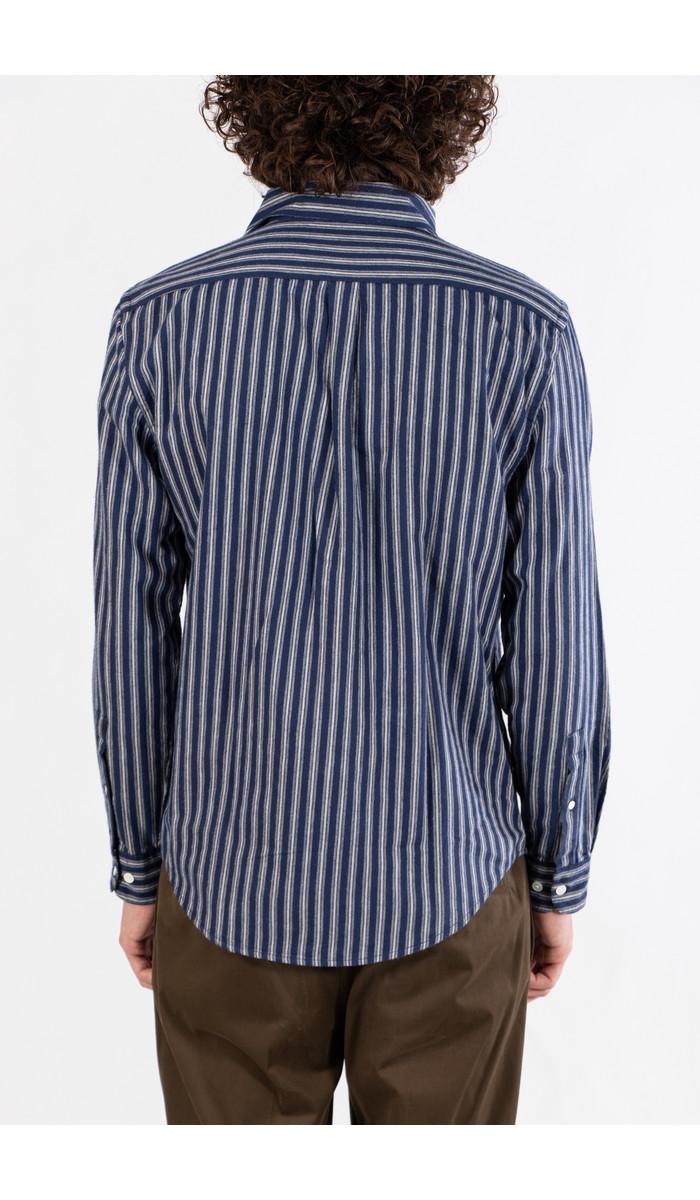 Portuguese Flannel Portuguese Flannel Shirt / Flannel Stripe / Navy