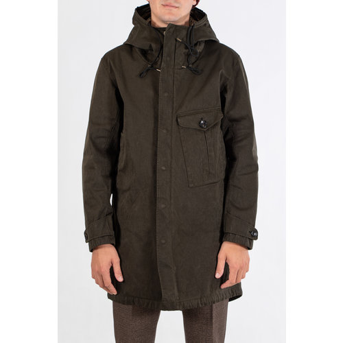 Ten-C Ten C Coat / Cyclone Parka / D. Green