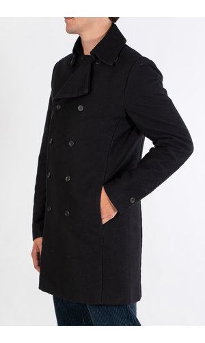 Hannes Roether Hannes Roether Coat / Steno / Black
