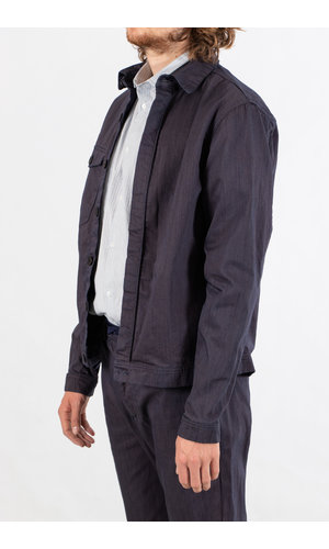 Yoost Yoost Jack / Boiler Jacket / Paarsblauw