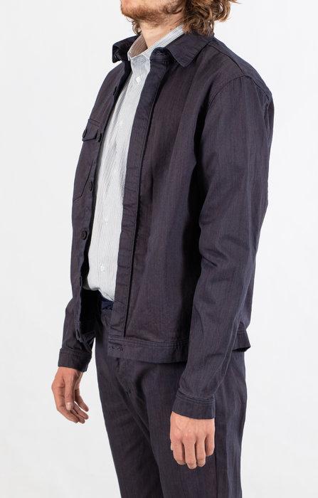 Yoost Yoost Jacket / Boiler Jacket / Purple Blue