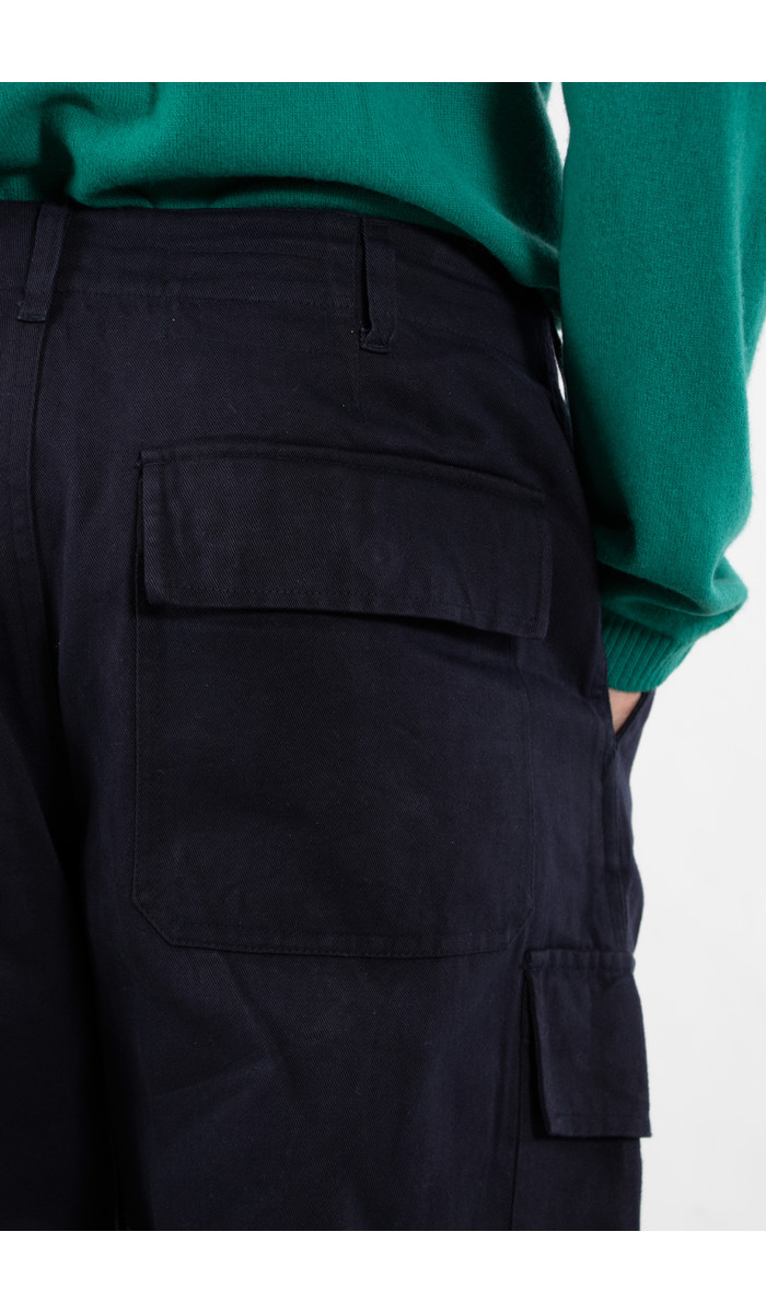 Universal Works Universal Works Trousers / Cargo Pant / Navy