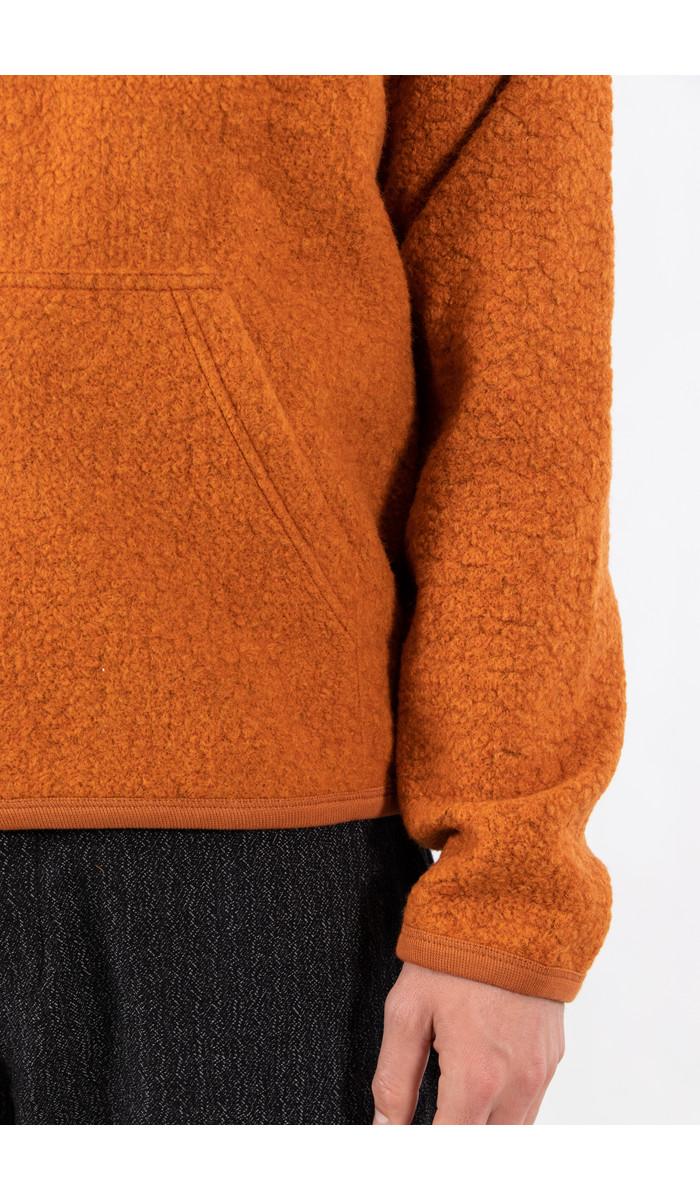Universal Works Universal Works Sweater / Beach Hoody / Orange