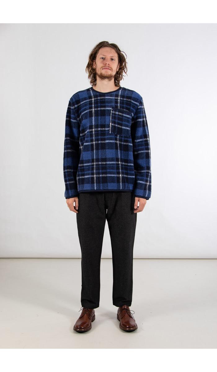 Universal Works Universal Works Sweater / Lancaster / Blue