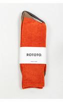 RoToTo Sok / Very Velour / Oranje Kameel