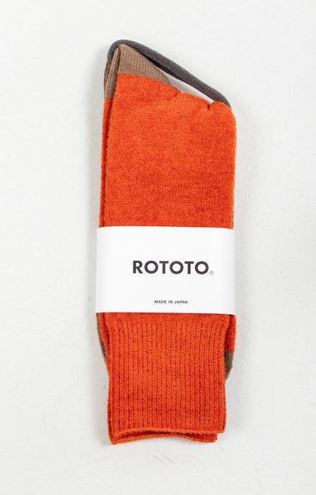 RoToTo RoToTo Sok / Very Velour / Oranje Kameel
