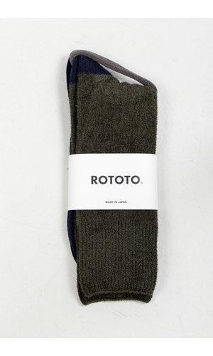 RoToTo RoToTo Sok / Very Velour / Groen Navy