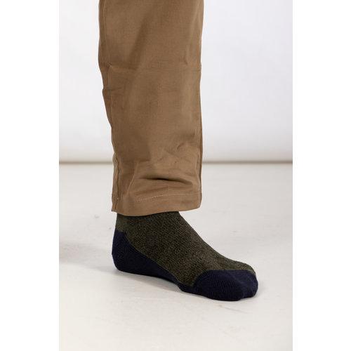 RoToTo RoToTo Sock / Very Velour / Green Navy