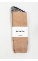 RoToTo Sok / Very Velour / Zwarte Kameel