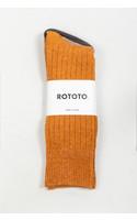 RoToTo Sok / Ribbed / Goudgeel