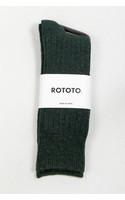 RoToTo Sok / Ribbed / Groen