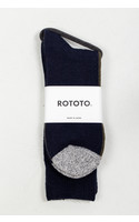 RoToTo Sok / Half & Half / Navy Groen