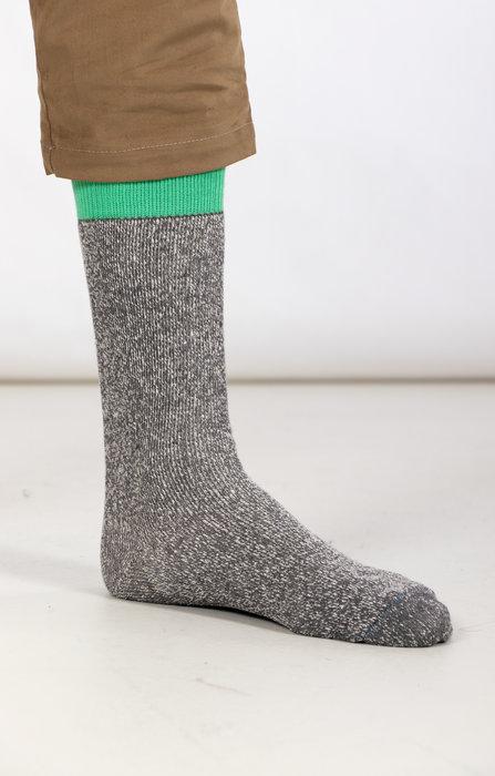 RoToTo RoToTo Sock / Double Face Silk / Green