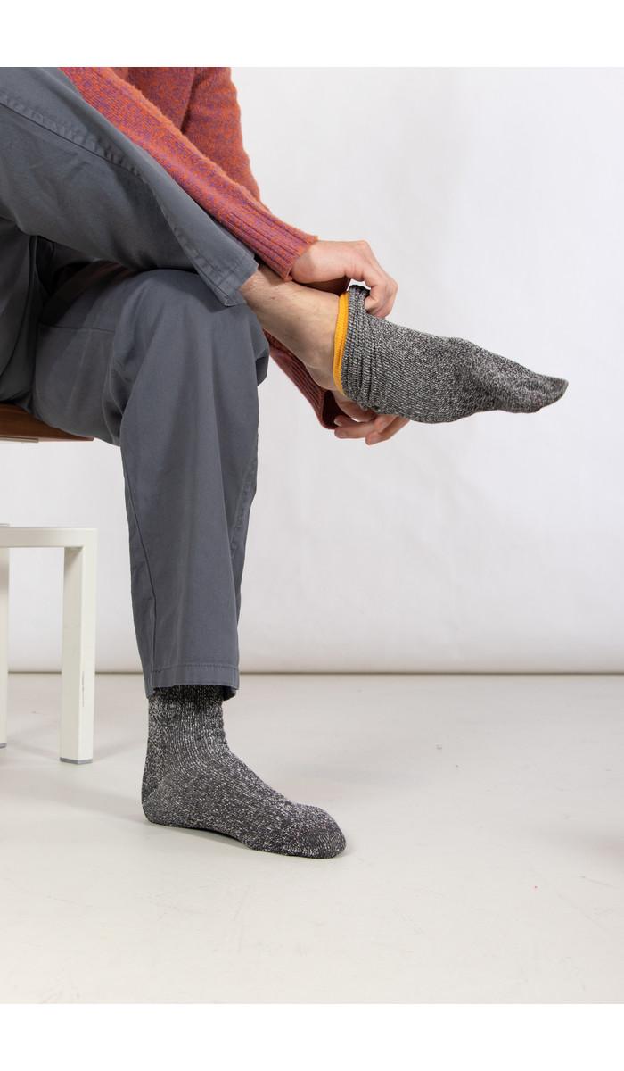 RoToTo RoToTo Sock / Double Face Silk / Yellow
