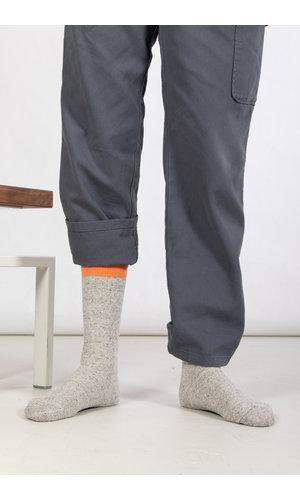 RoToTo RoToTo Sock / Double Face Silk / Orange