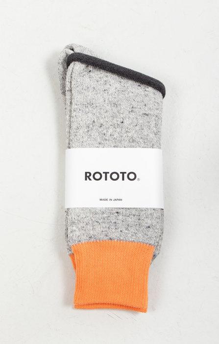 RoToTo RoToTo Sok / Double Face Silk / Oranje