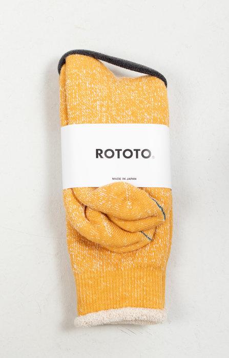 RoToTo RoToTo Sock / Double Face / Yellow
