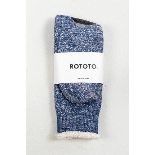 RoToTo RoToTo Sock / Double Face / Ocean