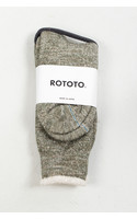 RoToTo Sok / Double Face / Groen