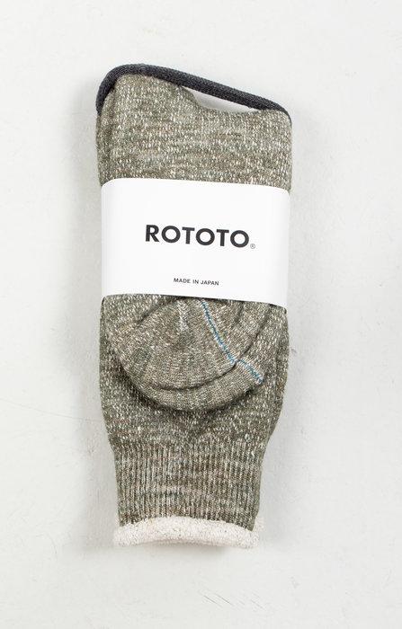 RoToTo RoToTo Sock / Double Face / Green