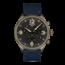 Tissot TISSOT Heren CHRONO XL Chronograaf, staal brons carbon/nylon-leer blauw, quartz, donkerblauwe wijzerplaat, saffier glas, 10Atm