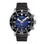 Tissot TISSOT SEASTAR  T1204171704100 Heren Chronograaf, staal/rubber zwart, quartz, blauw/zwarte wijzerplaat, saffier glas, 30Atm
