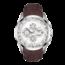 Tissot TISSOT Couturier Heren Staal/Leer Automaat Chrono, Wijzerplaat wit, Saffierglas, 100M