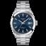 Tissot TISSOT Gentleman T1274071104100, staal/staal, automaat, blauwe wijzerplaat, saffierglas, 10 ATM