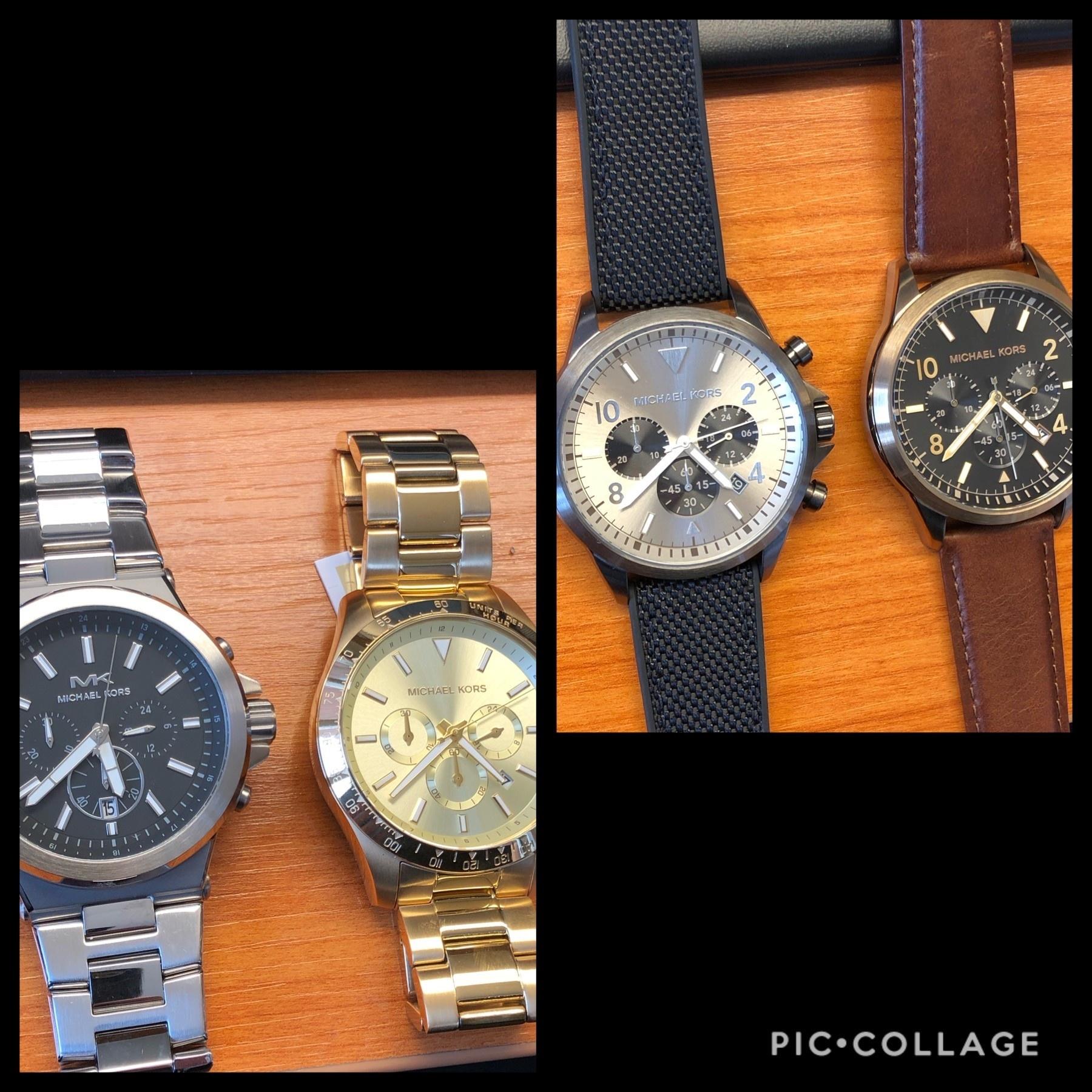 Nieuw binnen: Michael Kors herenhorloges