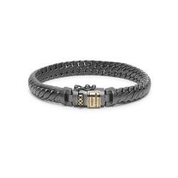BUDDHA TO BUDDHA armband Ben XS Black Rhodium Gold