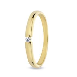 Miss Spring ring Bibi geelgoud 0.06