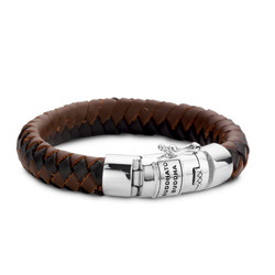 BUDDHA TO BUDDHA Armband Ben Leather 544Mix