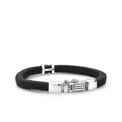 BUDDHA TO BUDDHA Armband  Denise Cord Black 780BL