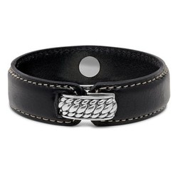 BUDDHA TO BUDDHA 130BL Anggun Leather Black