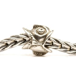 TROLLBEADS 11126 Vis nog vogel (retired)