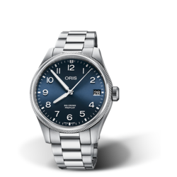 Oris Big Crown ProPilot Big Date | Staal blauw