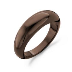 Blush Ring keramiek bruin maat 54