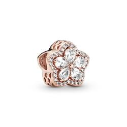 PANDORA Rose Snowflake Charm 789224C01