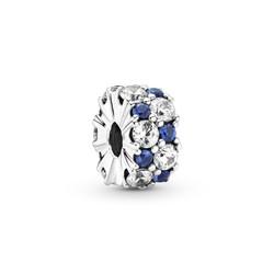 PANDORA Blue Crystal Clip 799171C01