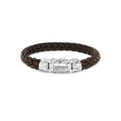 BUDDHA TO BUDDHA 126BR Mangky Small Leather Bracelet Brown