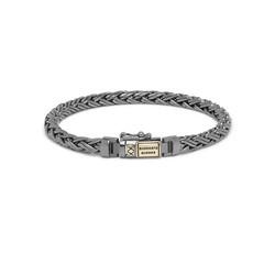 BUDDHA TO BUDDHA J170BR SG Katja XS Bracelet Black Rhodium Shine Gold 14kt