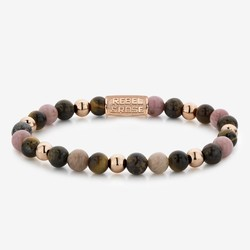 Rebel&Rose RR-60059-R-S Winter Glow - 6 mm Rose Gold Plated - S