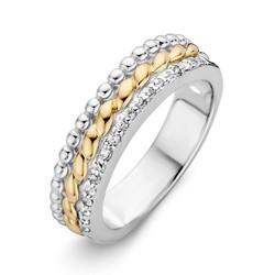 Excellent RF626428/56 14krt met zilver geelgouden ring