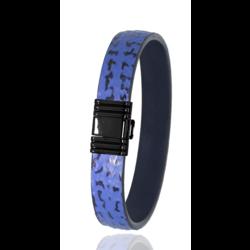 Albanu armband 30.08.5 haai, blauw, 20 cm.