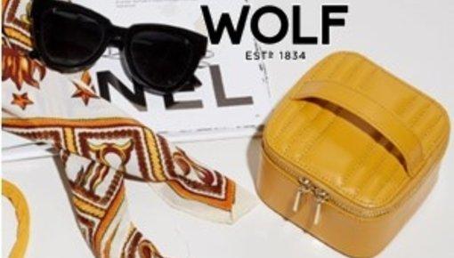 Wolf 1834: Watchwinders, sieraden- en horlogeboxen, juwelen reisetuis.