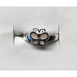 Kinderring 1049339 zilver vlinder maat 15,5