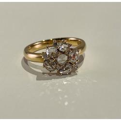 ROOS1835 109R80Y18 Geelgouden ring