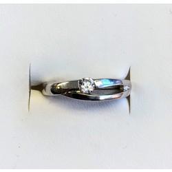 Kinderring 1042735 zilver wit zirkonia
