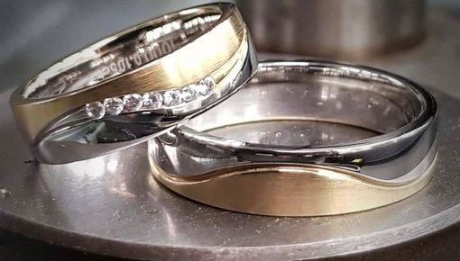 Aller Spanninga trouwringen